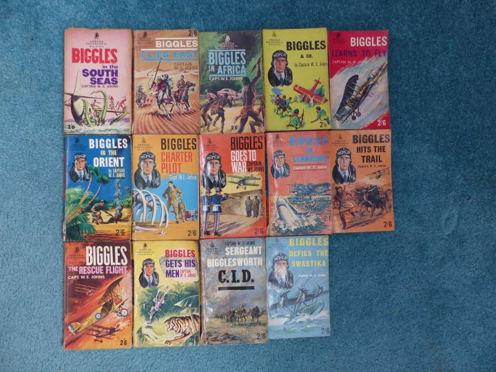 My Biggles collection