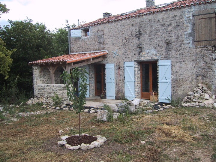Chez Wight garden, 2004