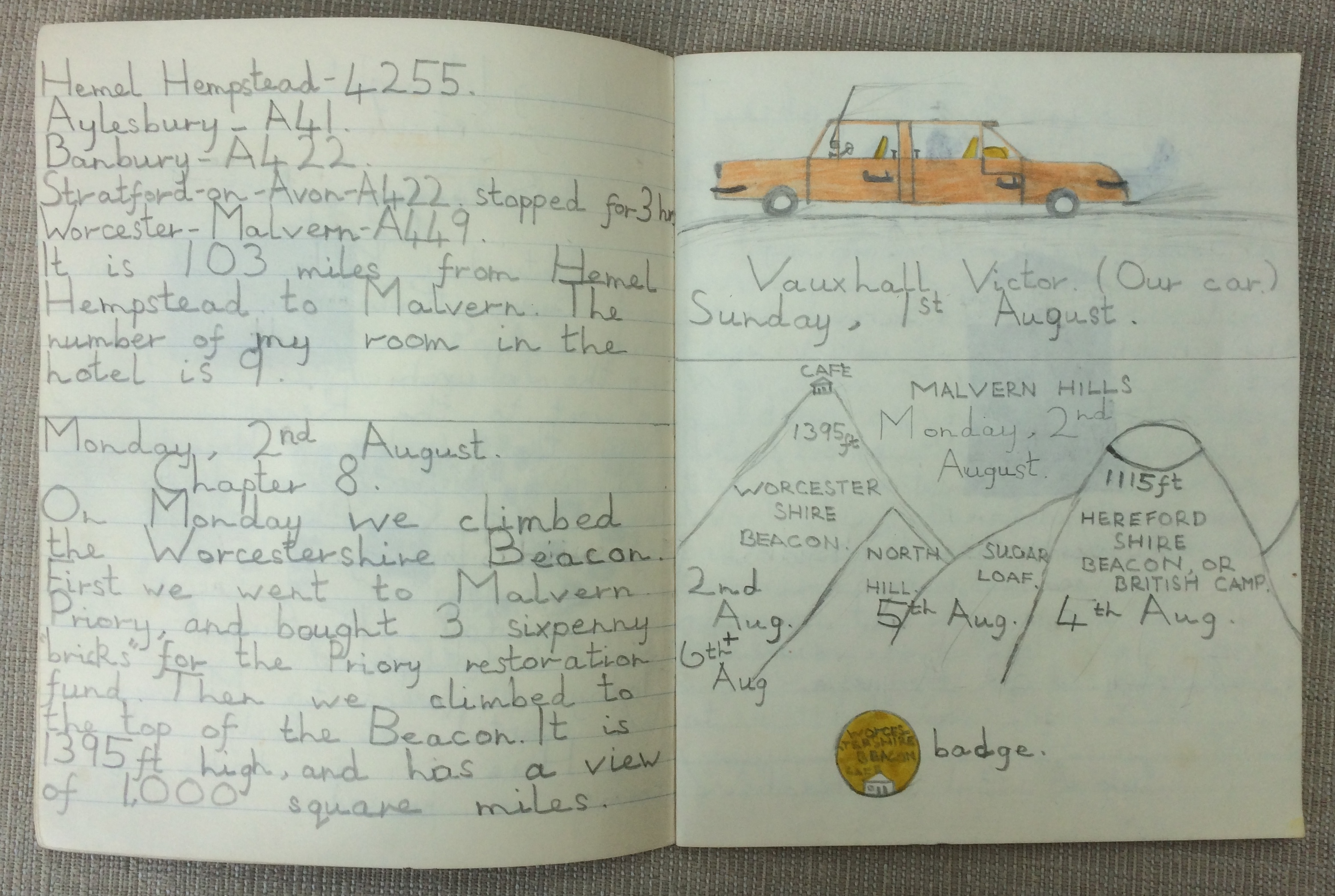 My holiday diary, 1965