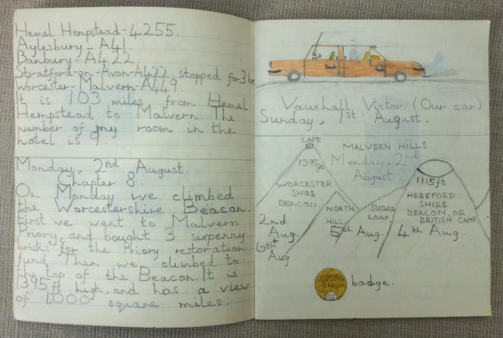 My holiday diary, 1965