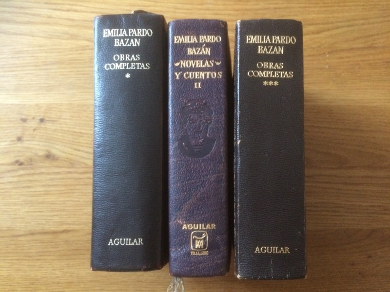 Complete works of Pardo Bazán